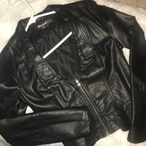 Rewind Women's Moto Jacket